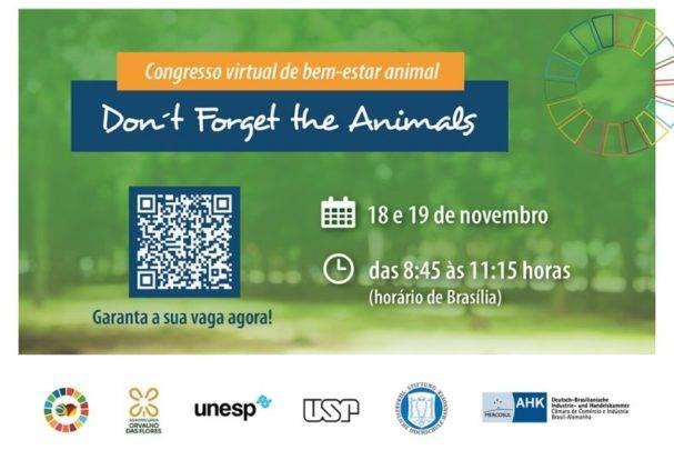 O Congresso Internacional de Bem-Estar Animal este ano será online