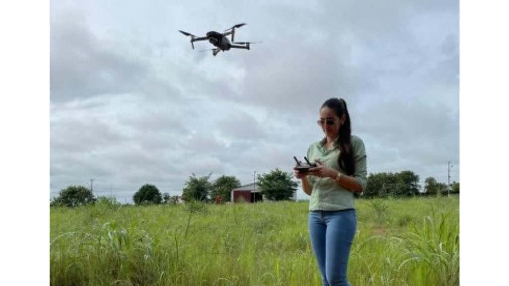 mais tecnologia aplicada no campo