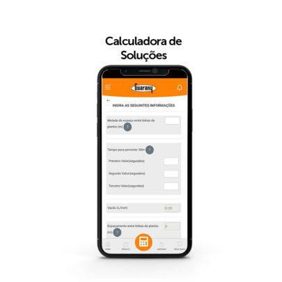 calculadora de solucoes guarany 1 1