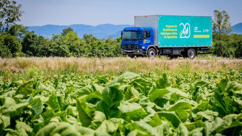 Centro Norte catarinense tem coleta itinerante de embalagens vazias de agrotóxicos