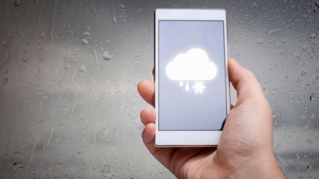Temperaturas amenas e avanço de chuvas em todo país