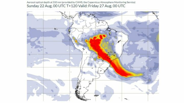 Sao Paulo tem preciptacao de fuligem por queimadas 4