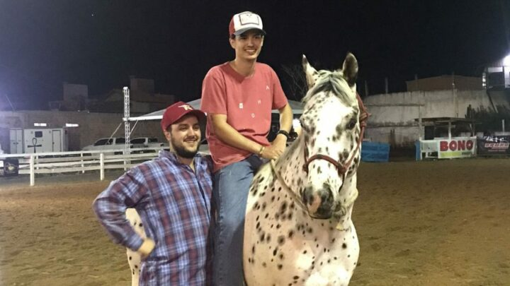 Cavalo Appaloosa conquista o melhor tempo durante o I Grand Prix Organnact