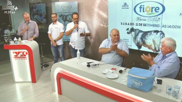 Leilão Girolando Edição Especial encerra com chave de ouro série de remates do Grupo Fiore