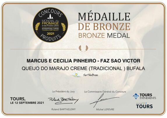 Queijo do Marajo da Fazenda Sao Victor conquista mais um premio internacional