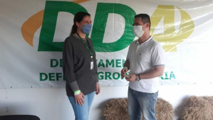 Veterinários da SEAPDR celebram seu dia na Expointer