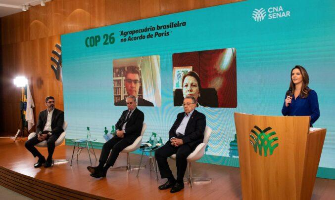 CNA elencou 5 temas considerados mais relevantes nas negociações e entregou ao governo propostas da agropecuária para a COP26